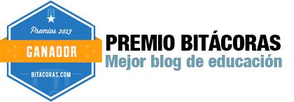 Premios Bitácoras 2013 - Mejor Blog de Educación